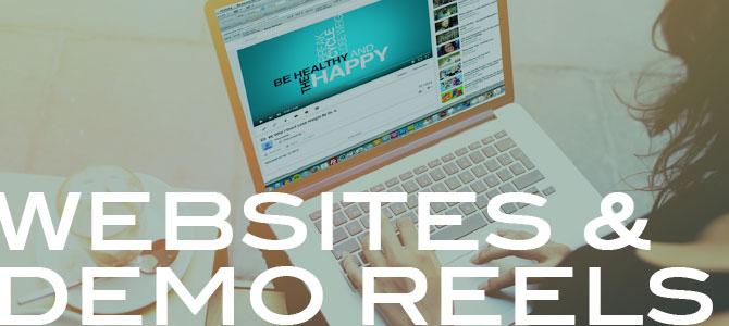 Websites & Demo Reels