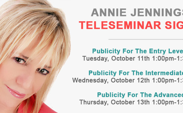 Telseminar Author Publicity
